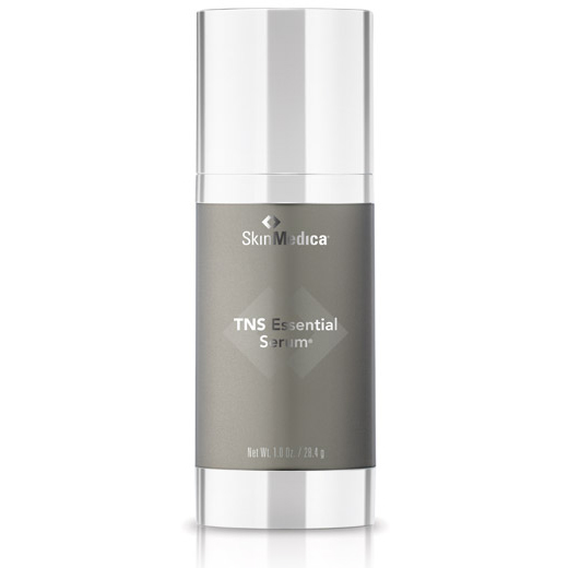 Bottle of SkinMedica TNS Essential Serum