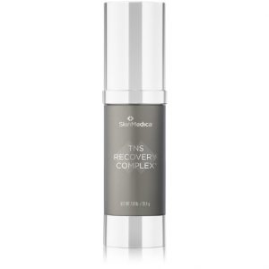 Bottle of SkinMedica TNS Recovery Complex