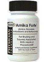 Bottle of Arnika Forte Tablets