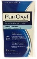 Bottle of Panoxyl cleanser