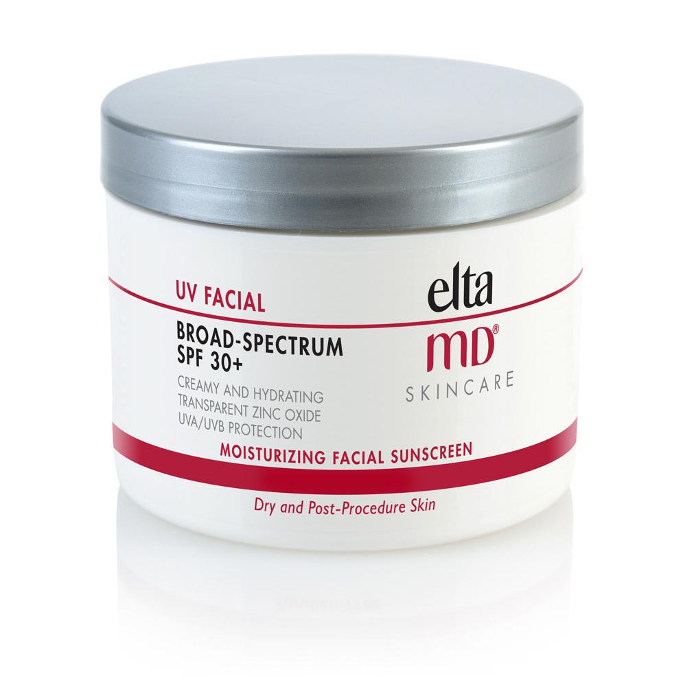 Jar of UV Facial Sunscreen