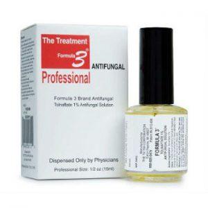 Bottle of Formula 3 Antifungall