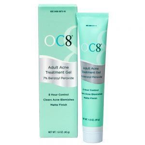 Tube of OC8 Adult Acne Formula
