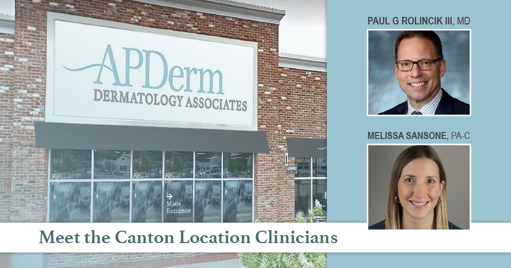 Dermatology Associates Canton Clinicians