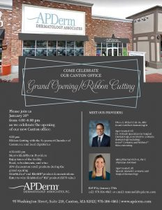 Dermatology Associates Canton Grand Opening